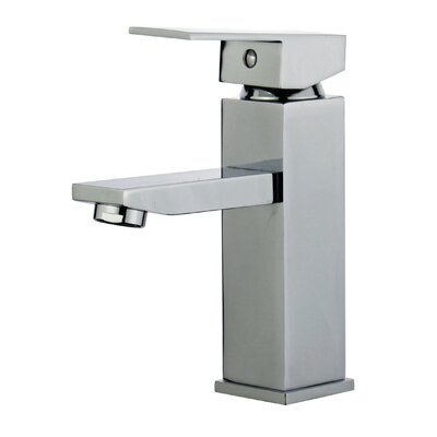 Granada Single Hole Single Handle Bathroom Faucet with Drain Assembly Finish: Polished Chrome