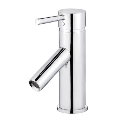 Malaga Single Handle Bathroom Faucet with Drain Assembly Finish: Polished Chrome