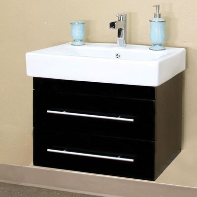 Pickering 25 Single Wall-Mounted Bathroom Vanity Set