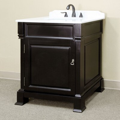 Tremont 30 Single Bathroom Vanity Set Base Finish: Espresso