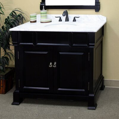 Osgood 42 Single Bathroom Vanity Set Base Finish: Espresso