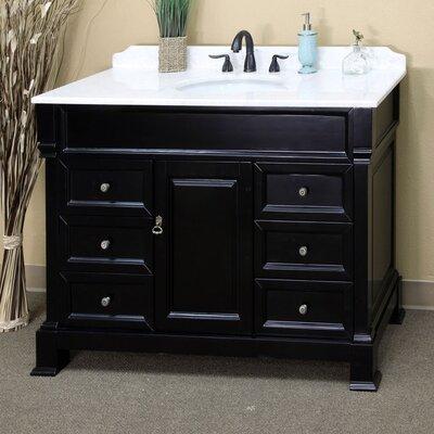 Habersham 50 Single Bathroom Vanity Set Base Finish: Espresso