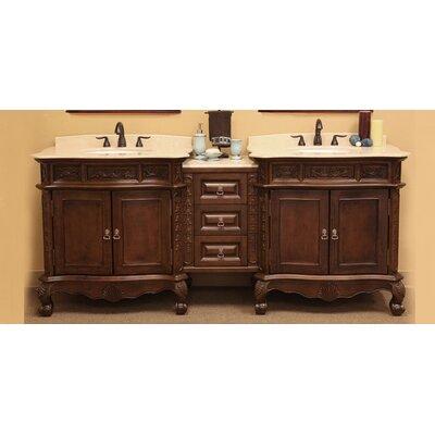 Elbridge 83 Double Bathroom Vanity Set