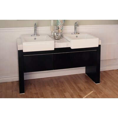 Essex 58 Double Bathroom Vanity Set