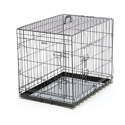 Folding Pet Crate Size: 30 (24 H x 21 W x 30 L)