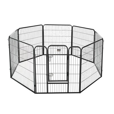 32 Heavy Duty Dog Exercise Pen Size: 32 H x 256 D