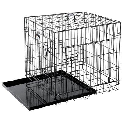 Folding Pet Crate Size: 24 (23 H x 20 W x 24 L)