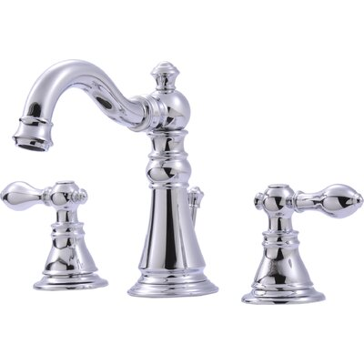 Widespread Bathroom Faucet with Double Handles Finish: Chrome