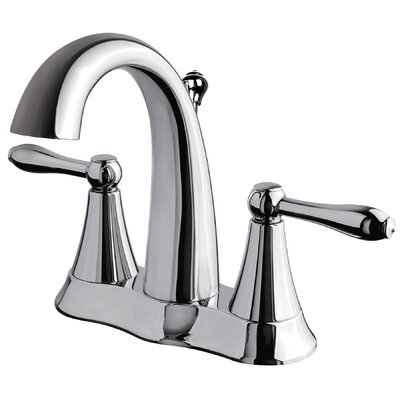 Two Handle Centerset Bathroom Faucet Finish: Chrome