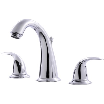 Two Handle Bathroom Widespread Faucet Finish: Chrome
