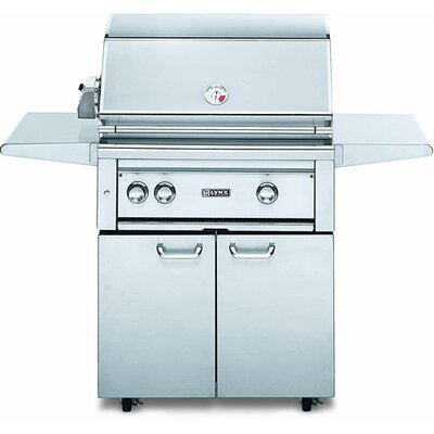"Lynx 30"" Gas Grill on Cart with Rotisserie L30ASFR-NG"