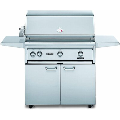 "Lynx 36"" Gas Grill on Cart with Rotisserie L36ASFR-NG"