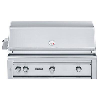 "Lynx 42"" Built-In Gas Grill with ProSear2 -Rotisserie Burner L42PSR-2-NG"