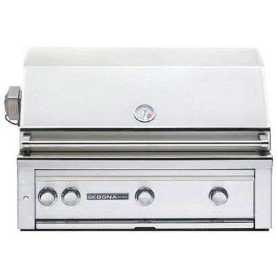 """Sedona By Lynx - 36"""" Built-In Gas Grill - Stainless Steel L600PSR-NG"""