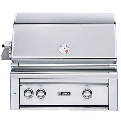 "Lynx 30"" Built-In Gas Grill with ProSear2 - Rotisserie Burner L30PSR-2-NG"