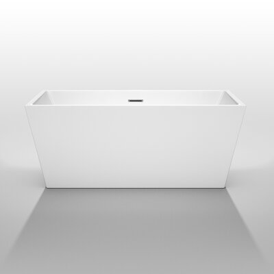 Sara 59 x 31.5 Soaking Bathtub