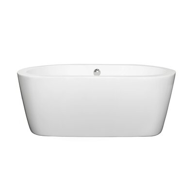 Mermaid 60 inches Soaking Tub