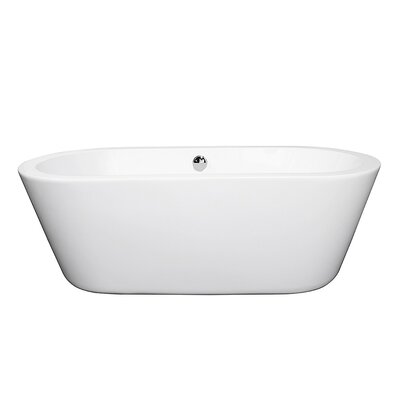 Mermaid 67 x 31 Soaking Bathtub