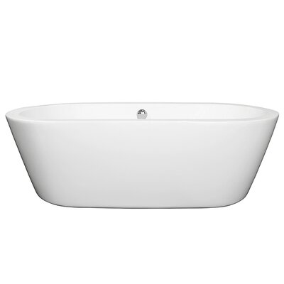 Mermaid 71 x 33.5 Soaking Bathtub