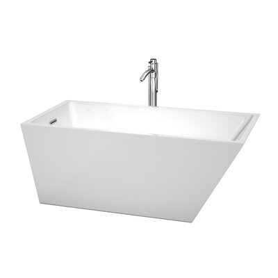Hannah 59 x 29.5 Soaking Bathtub