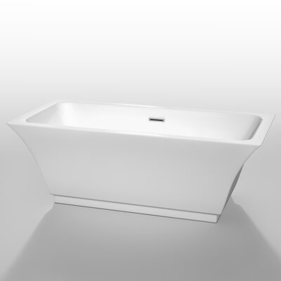 Galina 67 x 31.25 Soaking Bathtub
