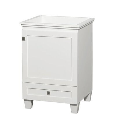 Acclaim 24 Single Bathroom Vanity Base Base Finish: White