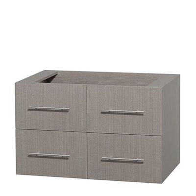 Centra 36 Single Bathroom Vanity Base Base Finish: Gray Oak