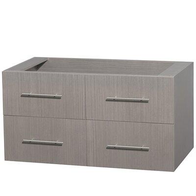 Centra 42 Single Bathroom Vanity Base Base Finish: Gray Oak