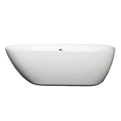 Melissa 65 x 31.25 Soaking Bathtub