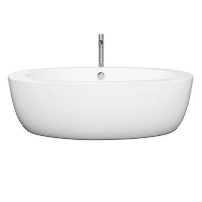 Uva 69 x 33 Soaking Bathtub Finish: Chrome