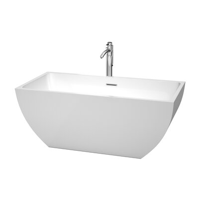 Rachel 59 x 29.5 Soaking Bathtub