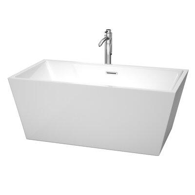 Sara 59 x 31.5 Soaking Bathtub