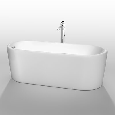 Ursula 67 x 27.5 Soaking Bathtub