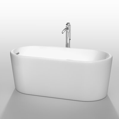 Ursula 59 x 27.5 Soaking Bathtub