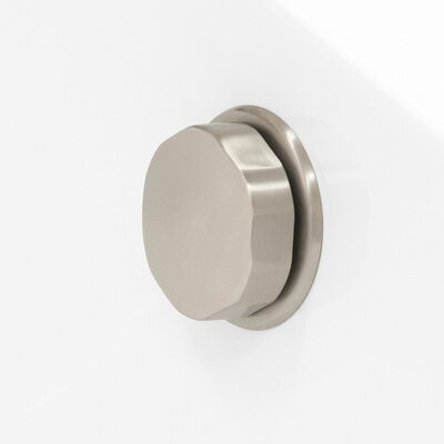 Soho Freestanding 72 H x 31 Soaking Bathtub Drain Finish: Brushed Nickel
