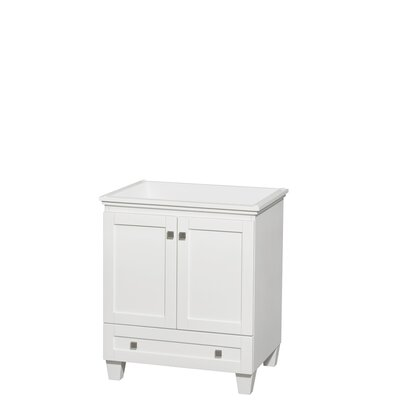 Acclaim 30 Single Bathroom Vanity Base Finish: White