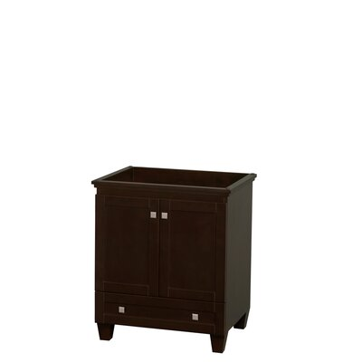 Acclaim 30 Single Bathroom Vanity Base Finish: Espresso