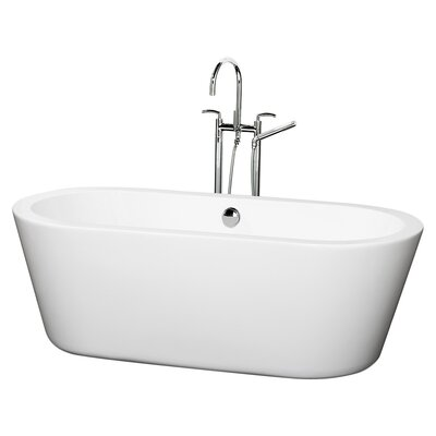 Mermaid 67 x 32 Soaking Bathtub