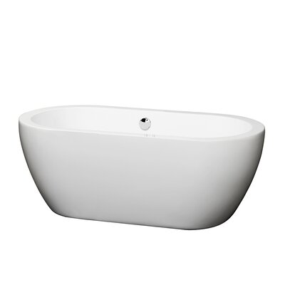Soho 60 Soaking Bathtub Trim Finish: Chrome
