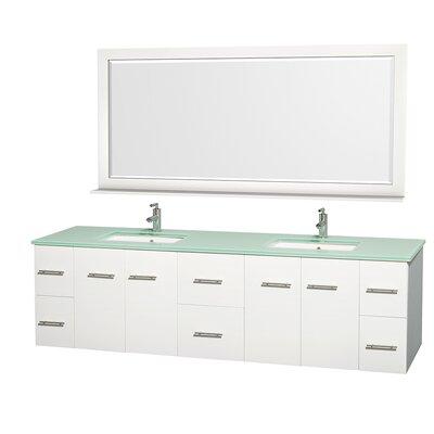 Centra 80 Double Bathroom Vanity Set