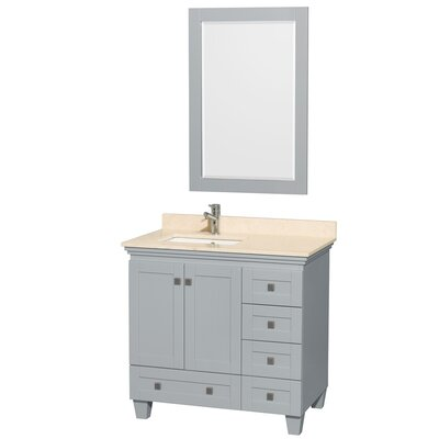 Acclaim 36 Single Bathroom Vanity Set with Mirror