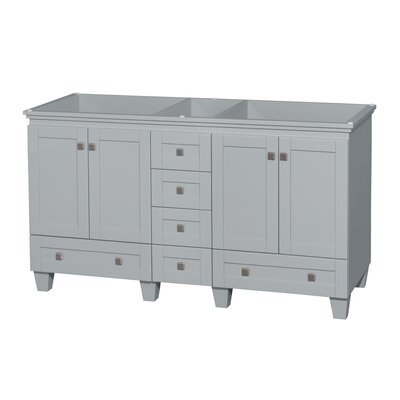 Acclaim 60 Double Bathroom Vanity Base