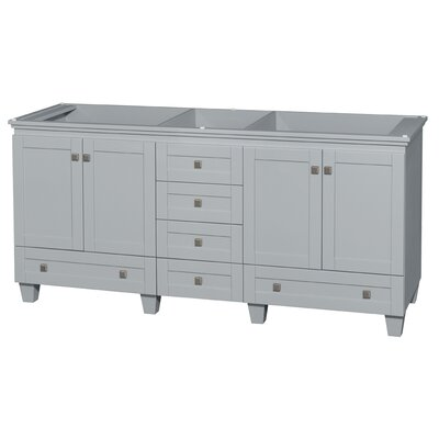 Acclaim 72 Double Bathroom Vanity Base