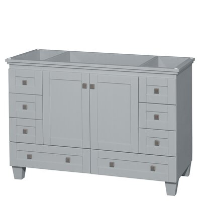 Acclaim 48 Single Bathroom Vanity Base