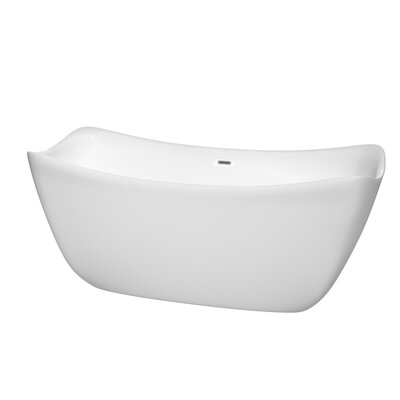 Donna 67 x 30 Soaking Bathtub