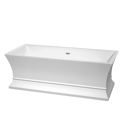 Jamie 67 x 30 Soaking Bathtub