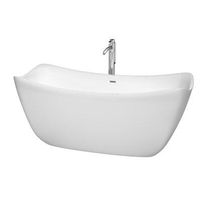 Donna 67 x 30 Soaking Bathtub