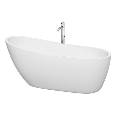 Florence 68.75 x 30.5 Soaking Bathtub