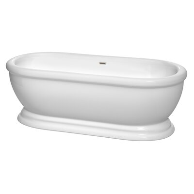 Mary 68.5 x 30.5 Soaking Bathtub
