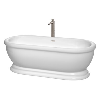 Mary 68.5 x 30.5 Soaking Bathtub